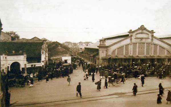 Hà Nội xưa - phố Hàng Khoai