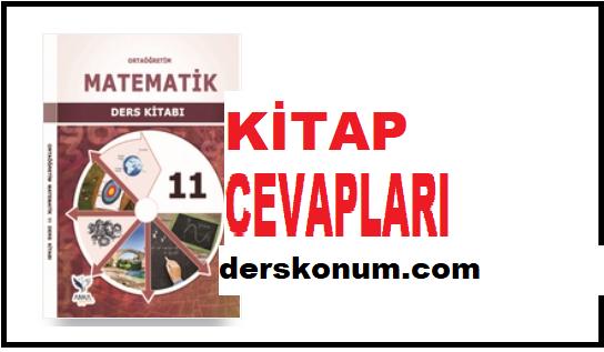 11. Sınıf Matematik Ders Kitabı Cevapları Anka Kuşu Yayınları
