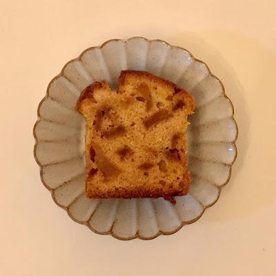 米粉,パウンドケーキ,グルテンフリー,glutenfree,gluten-free,レシピ,グルテン不耐性,高アミロース,北瑞穂,楽天レシピ,菜種油,ブルボン,林檎のブランデーケーキ,大人プチシリーズ,林檎,グランマルニエ