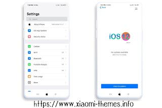 iOS Bose V10 miui theme