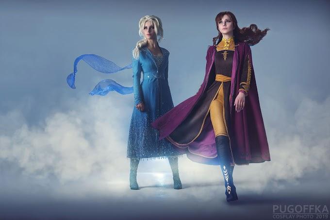 Oichi - Cosplay&ARTS se transforman en Elsa y Anna