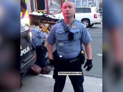 Four Minneapolis Police Officers Fired After Kneeling On The Neck Of A Black Man To Death