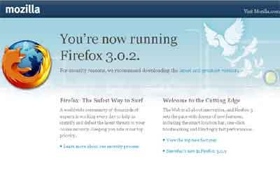 Update Firefox 3.0.2 Versi Bahasa Indonesia