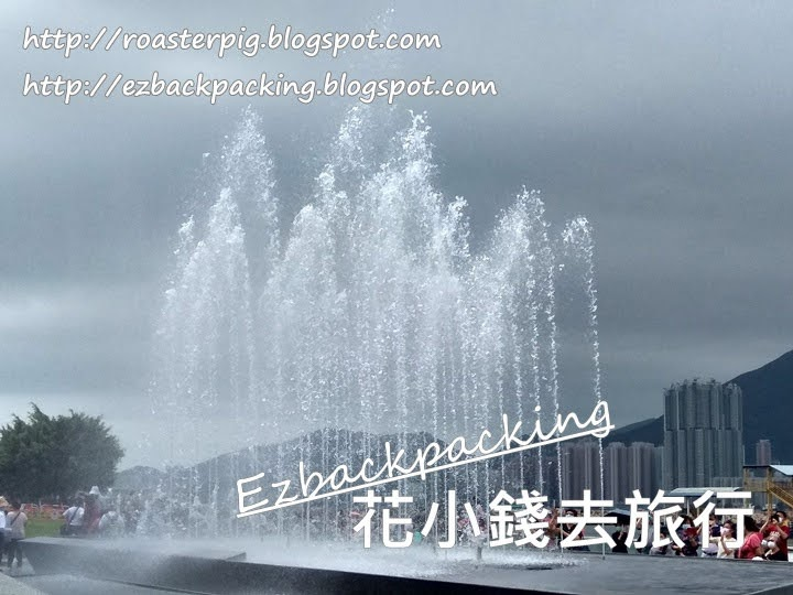 觀塘海濱公園音樂噴泉