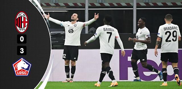 Milan vs Lille – Highlights