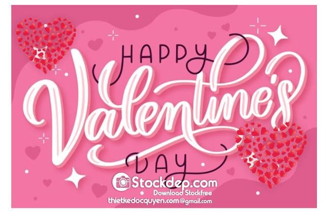 Happy valentine's day free vector