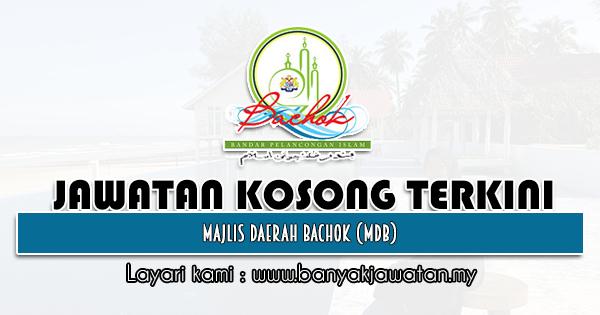 Jawatan Kosong 2021 di Majlis Daerah Bachok (MDB)