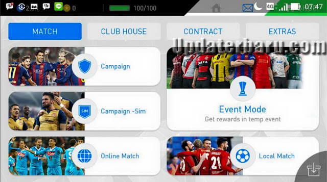 Update PES2017 Apk OBB Full Data v0.9 Terbaru For Android Work For Jellybean