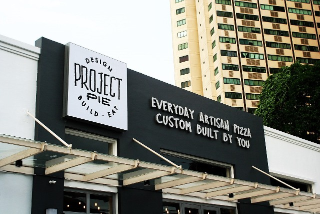 Project Pie Shaw Blvd. Mandaluyong City Build Your Own Artisan Pizza