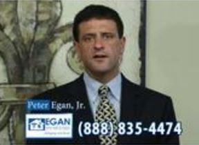 Peter Egan TV Commercial   http://peteregan.blogspot.com/