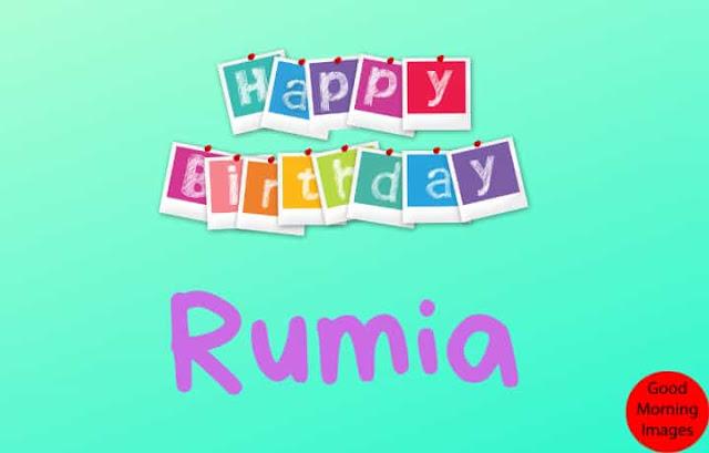 Happy Birthday Rumia