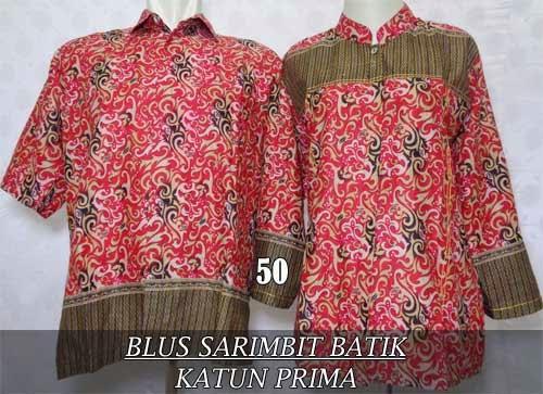 Blus batik couple sarimbit asli pekalongan 2015 murah dan modern