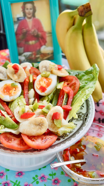 Fanny Cradock Banana Salad