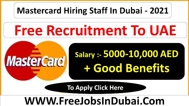 Mastercard Careers Jobs Vacancies In UAE 2021
