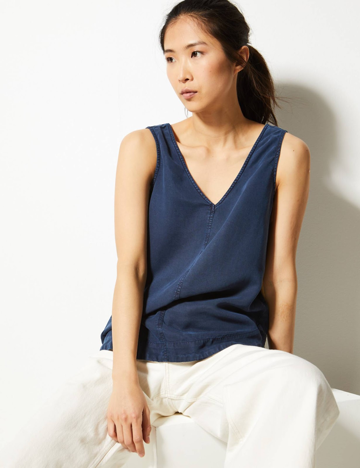 marks and Spencer vest top