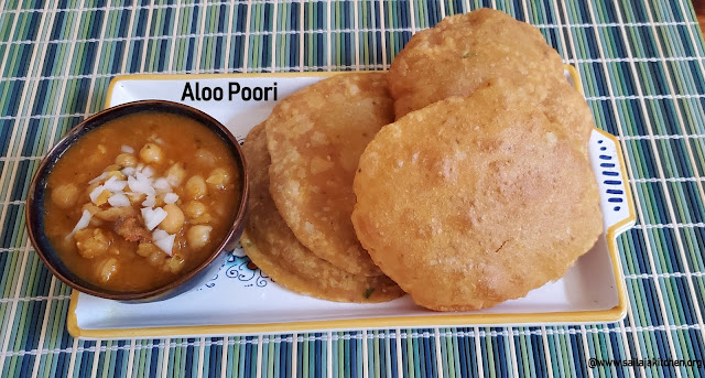 images of Aloo Puri Recipe / Aloo Poori Recipe / Potato Poori Recipe