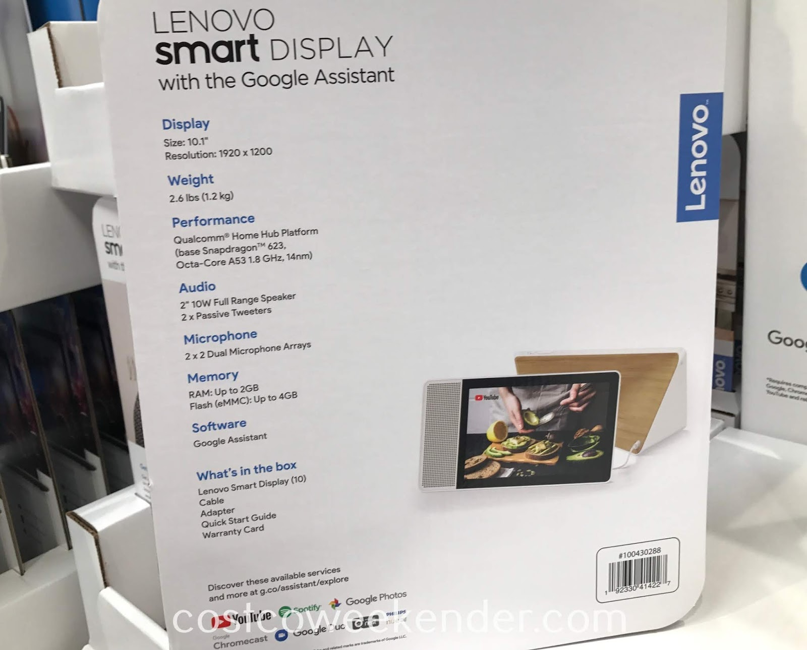 Lenovo Smart Display with the Google Assistant: great for any home