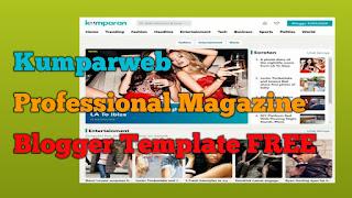 Download Kumparweb Blogger Template FREE