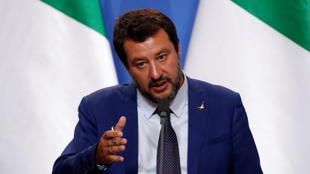 """Matteo Salvini: """"Europa será un califato islámico si no hacemos nada con nuestras raíces"""""""
