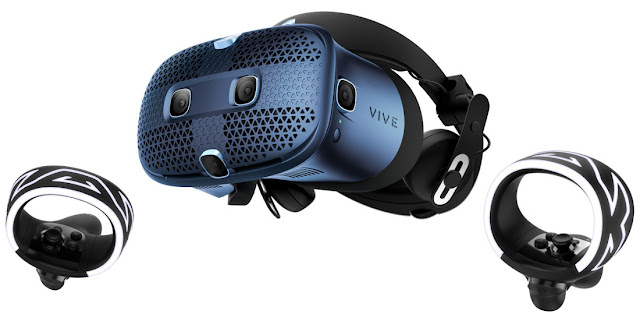 HTC Vive Cosmos VR headset with flip-up design, 90Hz refresh rate launched in India