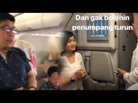 Video Kepanikan Penumpang Batik Air ID 7054 yang Memaksa Turun karena Mesin Pesawat Sempat Mati