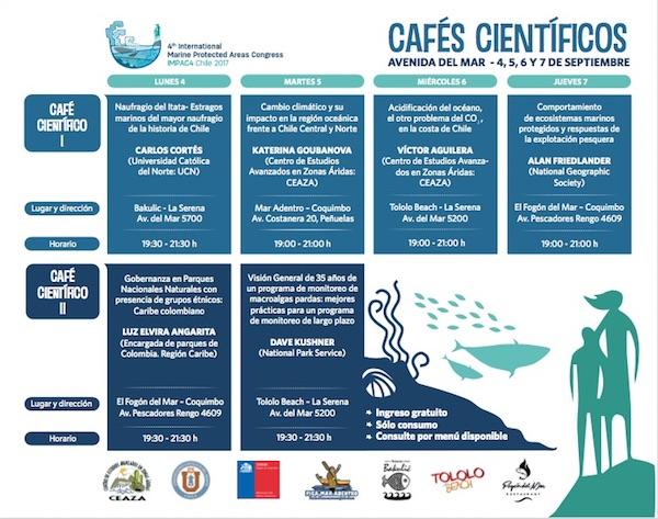 Programa Cafés Científicos