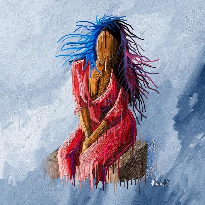 Кенийский художник. Anthony Mwangi