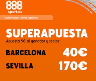 888sport superapuesta liga Barcelona vs Sevilla 6 octubre 2019