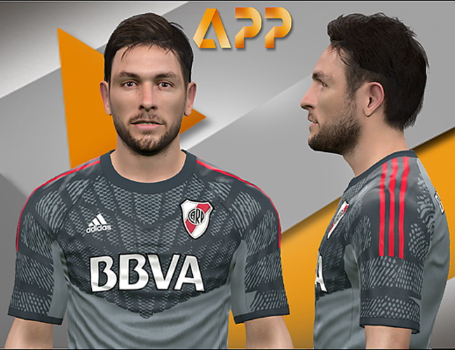 PES 2017 Germán Lux (River Plate) face by Litos Facemaker
