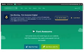 10 Website Gratis untuk Mempermudah Pekerjaan Anda 2 fontawesome