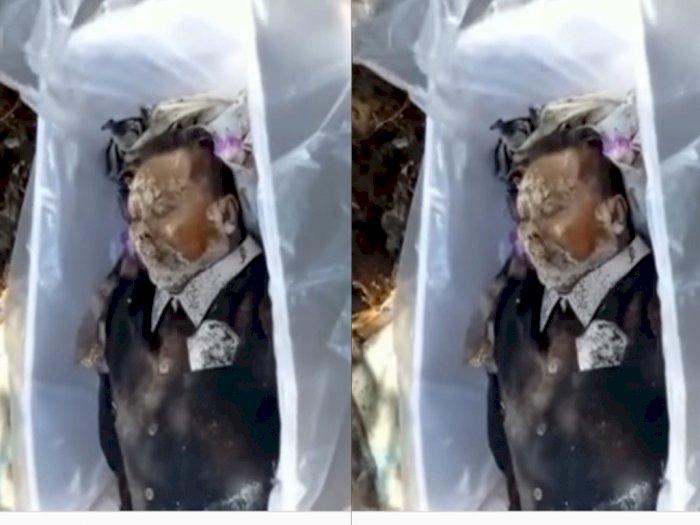 HEBOH! Jasad Pria yang Dikubur 11 Tahun Lalu Masih Utuh, Ditemukan Saat Relokasi Pekuburan