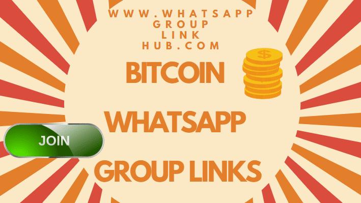 btc investment whatsapp group)
