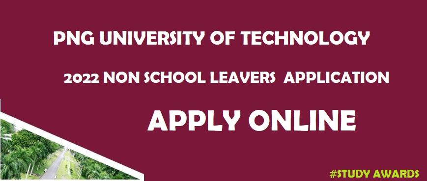 Unitech Non School leavers form 2022