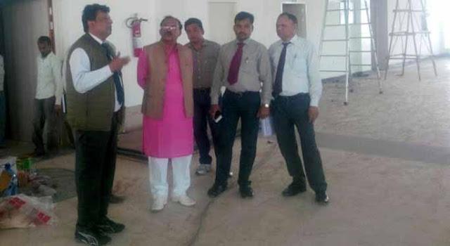 Ajmer, Rajasthan, Education Minister, Vasudev Devnani, Kishangarh, Hawai Patti, Airport