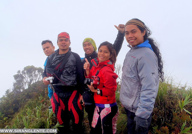 Mt. Halcon summit