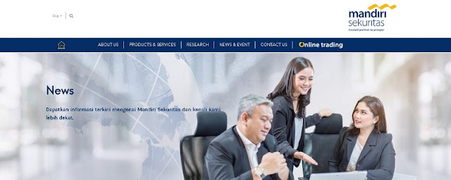 Mandiri Sekuritas - Investasi Online