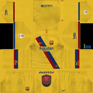LOGO DO BARCELONA DREAM LEAGUE SOCCER 2019 - Dream League