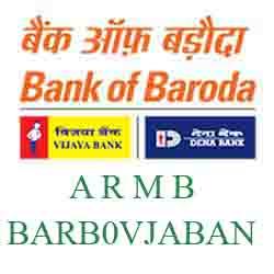 Vijaya Baroda Bank A R M B, Bangalore Branch New IFSC, MICR
