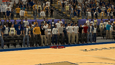NBA 2K13 New Orleans Pelicans Stadium Crowd Fix