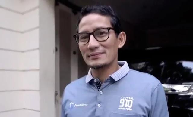 Percayakan Sengketa ke MK, Sandiaga: Para Pendukung Berdoa dari Rumah Saja