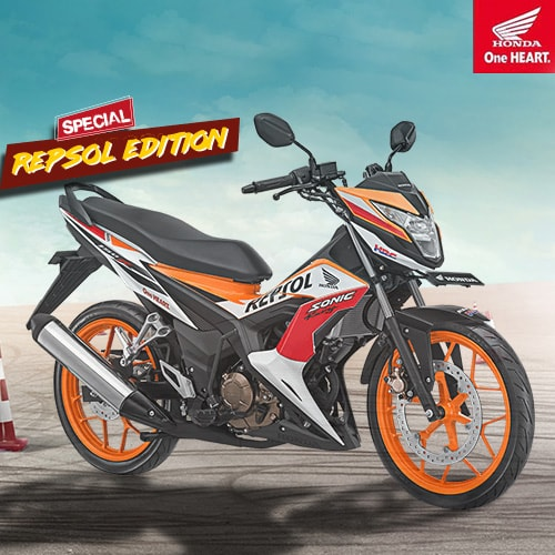 New Sonic 150R Repsol Edition