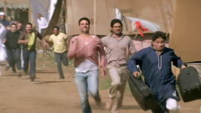 Raju and Shyam running | Hera Pheri Meme Templates