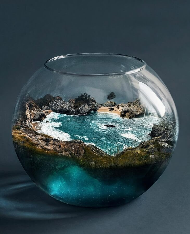 01-Living-in-a-fishbowl-Hüseyin-Şahin-www-designstack-co