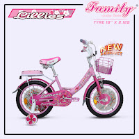 Sepeda Mini Anak Family CTB Kids City Bike