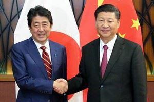 Chuyến thăm Trung Quốc của Thủ tướng Nhật Bản Shinzo Abe