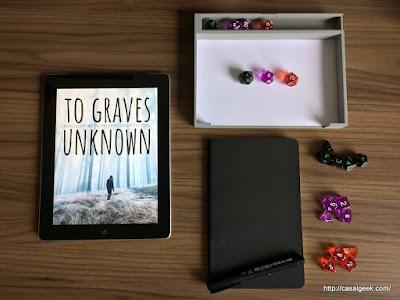 RPG para quem gosta de escrever: To Graves Unknown