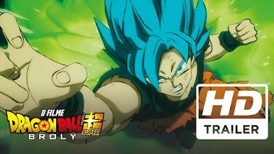 No Telecine Pipoca, Dragon Ball Super – Broly: o Filme em dezembro