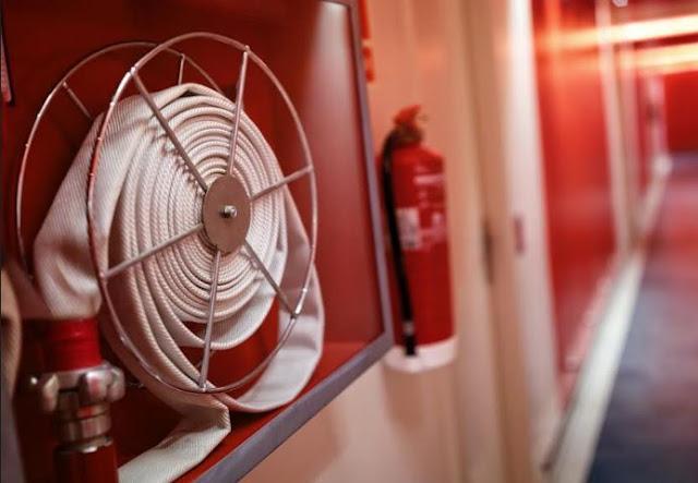 workplace safety fire extinguishers hose safe workspace