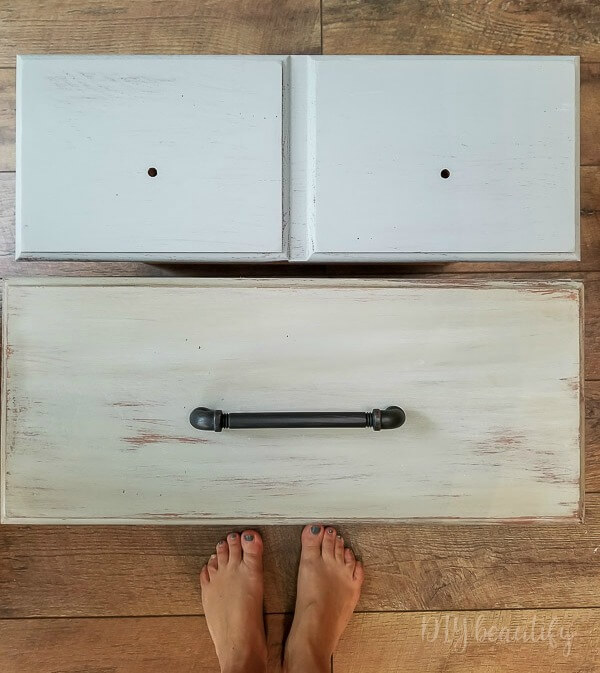 before and after dresser drawers