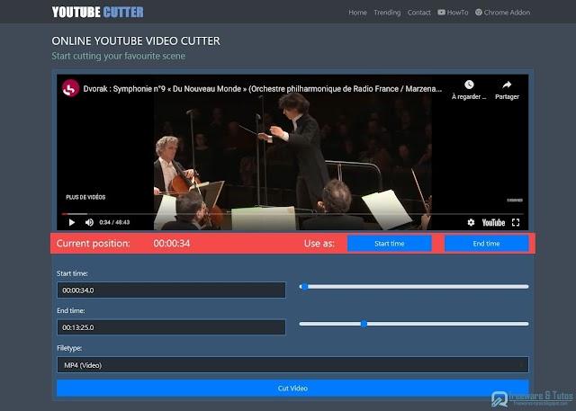 YouTube Cutter : la solution pour télécharger et partager facilement une partie d'une vidéo YouTube